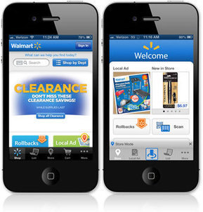 Walmart expands iPhone 'Scan & Go' app to 200 stores - CNET | Mobile: Recruitment and Applications | Scoop.it