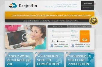 Darjeelin: des billets d'avion moins chers grâce aux experts   Startup tourisme   Scoop.it