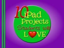 10 iPad Project Students will LOVE « Interact Cafe | Technology Integration | Scoop.it