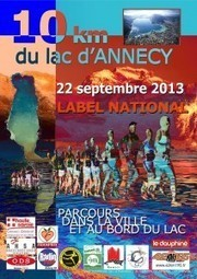 10 km annecy : inscriptions ouvertes ! | Annecy | Scoop.it