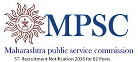 MPSC STI Recruitment 2016 Apply Online 62 Posts Latest | urexamsyllabus.blogspot.com | Scoop.it