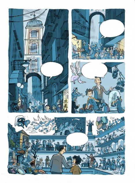 IL PASTORE DELLA MERAVIGLIA a fumetti  Gennaro Matino, Blasco Pisapia | DailyComics | Scoop.it