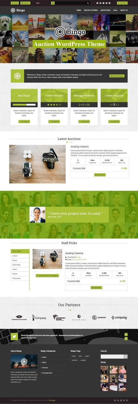 Best Auction WordPress Themes & Plugins 2014 | eCommerce Website Templates | Scoop.it