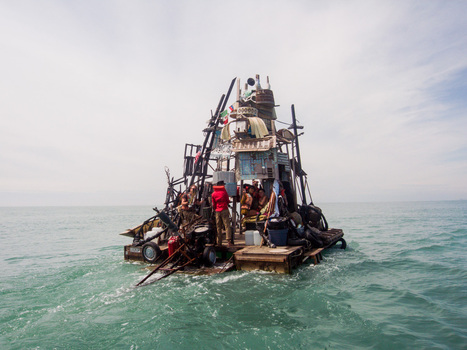 The Burning Man Aquatic: Hobo-Steampunk Boats House River-Running Art Collective | Raw File | WIRED | nouvelle piece | Scoop.it