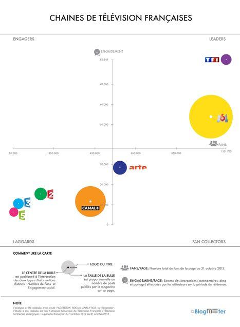 Facebook TOP BRANDS:1er Etude sur les performances de la Télévision Française sur Facebook - Blogmeter | Mon média-monde | Scoop.it