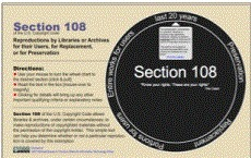 Section 108 Spinner | K-12 Copyright Resources | Scoop.it