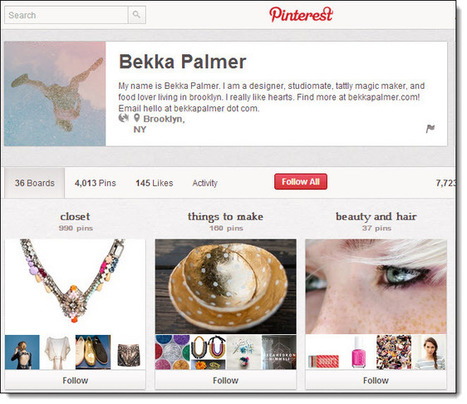 The World's Top 5 Pinners on Pinterest | Surviving Social Chaos | Scoop.it