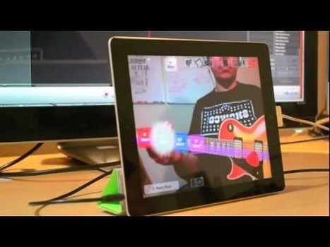 Yonac GhostGuitar Takes iOS Into Kinect Style Augmented Reality Territory | Augmented Reality News and Trends | Scoop.it