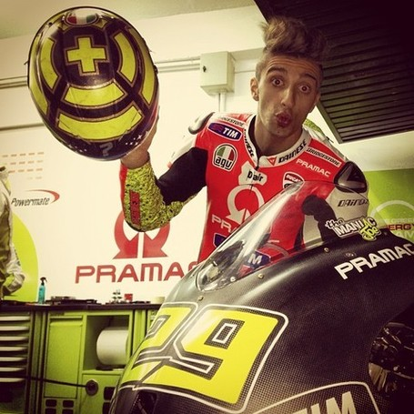 Welcome Andrea Iannone!!! \ ducachef \ Ducati Community | Ductalk | Scoop.it