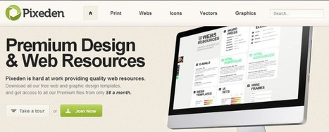 5 sitios en los que encontrar recursos gratuitos para diseñadores - Bitelia | medios para la web | Scoop.it