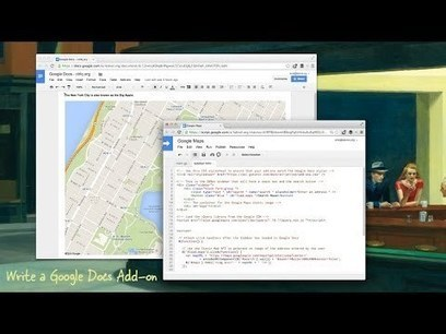 How to Write an Add-on for Google Docs | Google Apps Script | Scoop.it