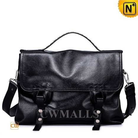 CWMALLS® Mens Leather Messenger Bags CW906337   Mens Business Bags   Scoop.it