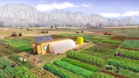 Solar Powered 'Farm from a Box': Everything You Need to Run an Off-Grid Farm | #Sustainability | Scoop.it