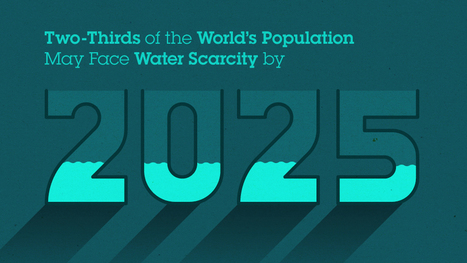 Two-Thirds of the World's Population May Face Water Scarcity by 2025 | Food&Bev - Sustainability Authenticity Safety | Scoop.it