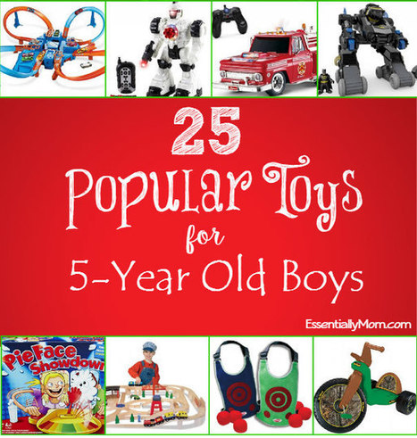 25 Popular Toys for 5 Year Old Boys   Essentially Mom Favorites   Scoop.it