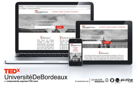 TEDx Université de Bordeaux | Services Internet critiques | Scoop.it