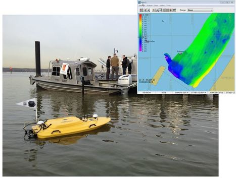 TELEDYNE OCEANSCIENCE DEMONSTRATES NEW MULTIBEAM Z-BOAT AT US HYDRO 201 | Ocean Science | Scoop.it