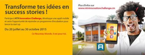 MTN Cameroun lance MTN Innovation Challenge, la compétition de développement d'applications mobiles   AfrICT (Africa ICT) News   Scoop.it