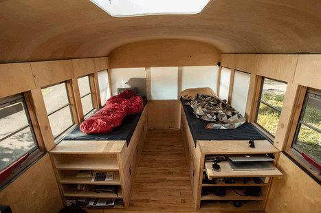 hank bought a bus: architecture student turns bus into a house | Architecture and Architectural Jobs | Scoop.it