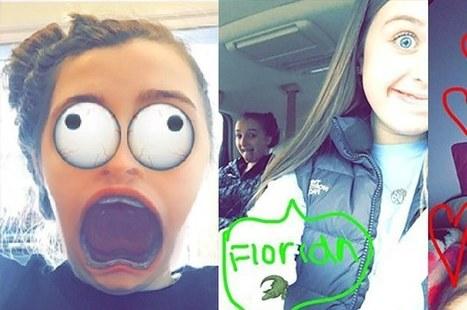 Ma petite sœur m'a appris à utiliser Snapchat comme «les ados» | Tendances et Société | Scoop.it