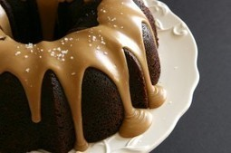 Guinness Chocolate Cake with Salted Caramel Glaze : The Hungry Housewife | All About Scoop It | Scoop.it