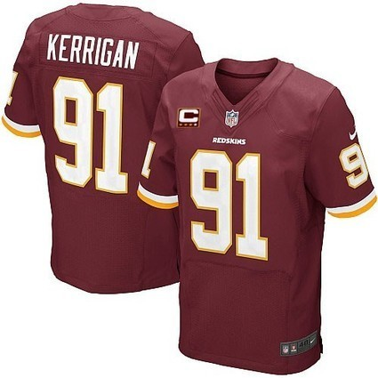 Mens Ryan Kerrigan #91 Elite Burgundy Red Team Color Washington Redskins Nike Jersey On Sale in www.Redskinsjerseysteamstore.com | Washington Redskins Jerseys | Scoop.it