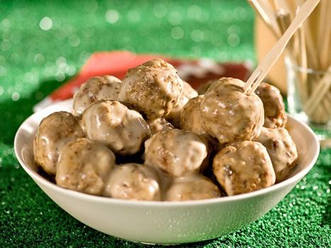 Swedish Meatballs Recipe : Alton Brown : Food Network   Food Stuff   Scoop.it