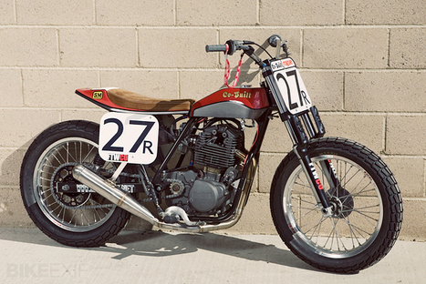 AMA Flat Track Shootout   7seven customs   77C bicycles   Scoop.it