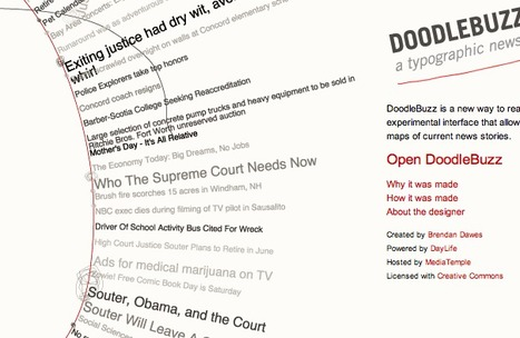 DoodleBuzz: Typographic News Explorer | Edu 2.0 | Scoop.it