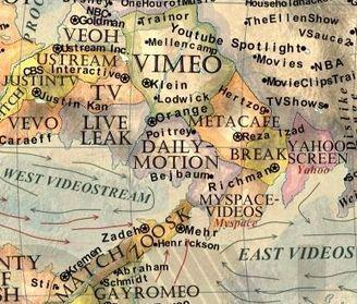 Une incroyable carte d'Internet / le mouv'   Cartographie culturelle   Scoop.it