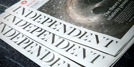 «The Independent» joue son va-tout sur Internet | L'Angle de la Terre and Co | Scoop.it