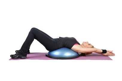 Bosu Ball Exercises - BOSU Balance Trainer | BallExerciseWorkouts.com | Exercise Ball Workouts | Scoop.it