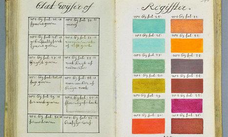 271 ans avant Pantone, un artiste a répertorié toutes les couleurs imaginables dans un ouvrage de plus de 800 pages - Daily Geek Show (DGS) | Nos Racines | Scoop.it