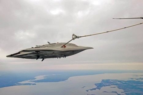 X-47B UCAS Engages Refueling Tanker Mid-Flight | Unmanned Systems Technology | humanitarian mapping | Scoop.it
