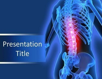 Create Awareness about Back Pain Problem through This ppt | Medical PPT Templates | Scoop.it
