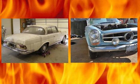 Project Car Hell, Classic Benzes Edition: Heckflosse Coupe or 230SL? - Autoweek | Classic cars enthusiast | Scoop.it