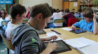 Le numérique à l'école   La-Croix.com   Ameublement   Scoop.it