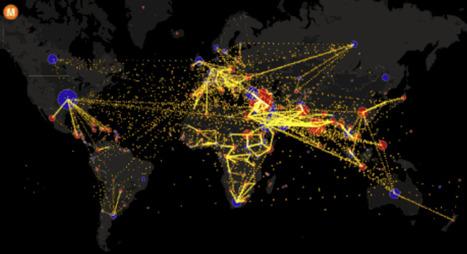 En GIF, la carte du monde des migrations a tout d'une fourmilière - Mashable / France24 | Nouvelles Tendances Mondiales | Scoop.it