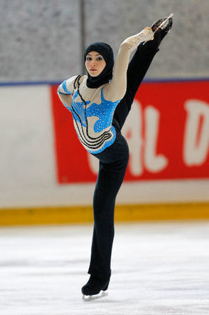"Islamism put women's rights on ice | ""adult figure skating"" 