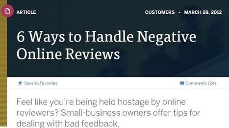 Online Reputation Management Tips: Handling Negative Online Reviews | Reputation Local | Scoop.it