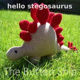 The Button Ship: Free pattern: hello stegosaurus | Crochet Crochet Crochet.... | Scoop.it