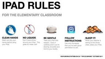 Growing Up Digital: iPad Rules for the Elementary Classroom | iPads in the  classroom | Scoop.it