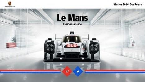 Porsche lance la première course social media de 24h #24SocialRace | E-Réputation | Scoop.it