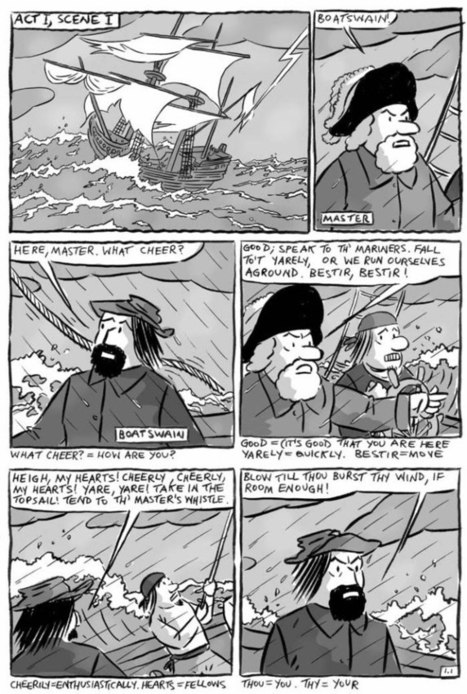 The Tempest   Shakespeare Comics   Scoop.it