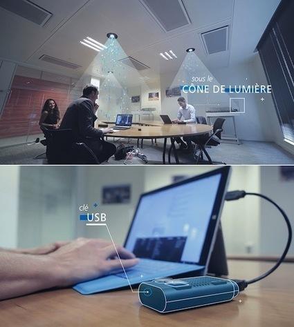 Lucibel lance une solution LiFi destinée aux entreprises | 2025, 2030, 2050 | Scoop.it