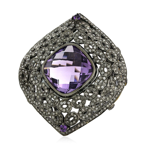 Victorian Diamond Rings | Diamond Jewelry | GemcoDesigns | Pave Diamond Palm Bracelets | Diamond Jewelry | GemcoDesigns | Scoop.it