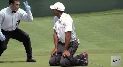 Tiger Woods dans la dernière Pub de Nike | Coté Vestiaire - Blog sur le Sport Business | Scoop.it