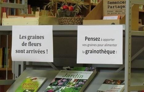 Lille: Les médiathèques relancent l'échange de graines | Bibliothèques vivantes | Scoop.it