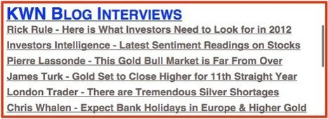 Paul Brodsky - #Gold Could See Five Digits in 2012 | Commodities, Resource and Freedom | Scoop.it