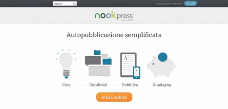 Crea e vendi il tuo eBook con Nook Press | Come Creare e Pubblicare un eBook | Scoop.it